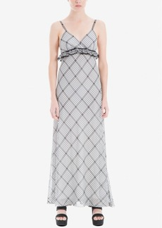 Max Studio London Printed Empire-Waist Dress