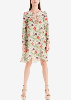 Max Studio London Printed Shift Dress