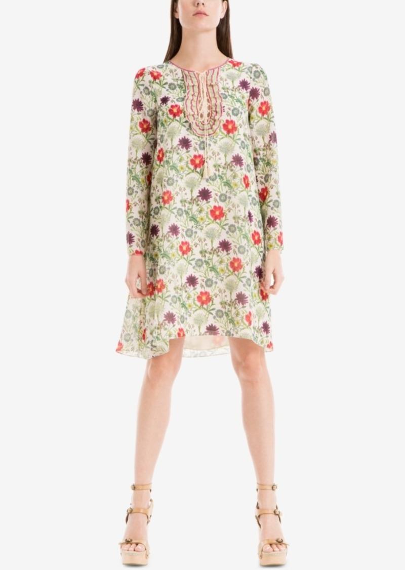 Max Studio London Printed Shift Dress
