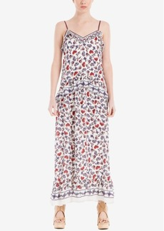 Max Studio London Ruffled Maxi Dress