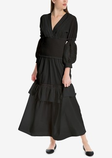 Max Studio London Ruffled Maxi Dress, Created for Macy's