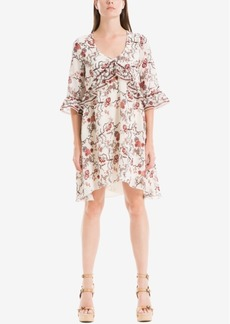 Max Studio London Ruffled Shift Dress