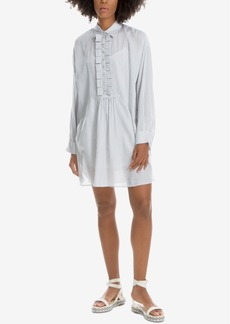 Max Studio London Ruffled Shirtdress, Created for Macy's