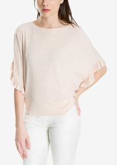 Max Studio London Ruffled-Sleeve Top, Created for Macy's