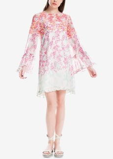 Max Studio London Ruffled-Trim Dress, Created for Macy's
