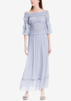 Max Studio London Smocked Maxi Dress, Created for Macy's