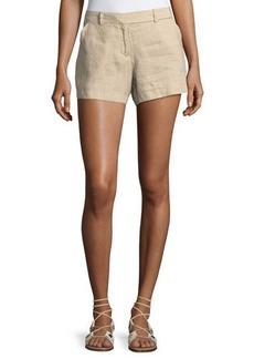 Max Studio Medium-Weight Linen Shorts