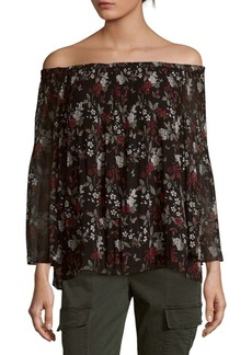 Max Studio Off-The-Shoulder Top