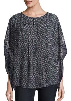 Max Studio Printed Pullover Top