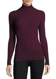 Max Studio Ribbed Turtleneck Sweater