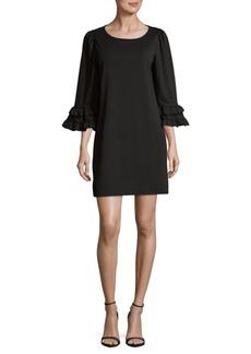 Max Studio Ruffle-Sleeve Dress