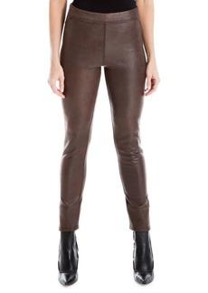 Max Studio Skinny Faux Leather Leggings