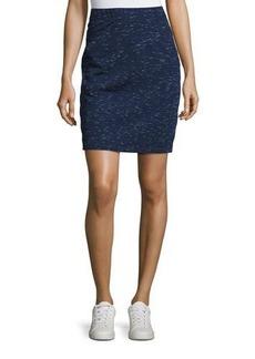 Max Studio Space-Dye Pull-On Skirt