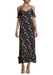 Max Studio Strappy Maxi Dress