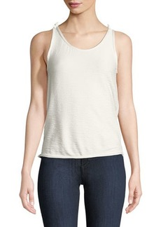 Max Studio Textured Tank Top