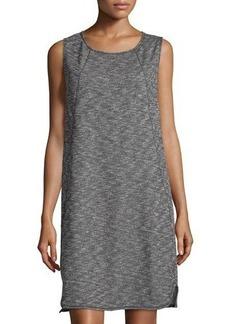 Max Studio Sleeveless Terry-Cloth Dress