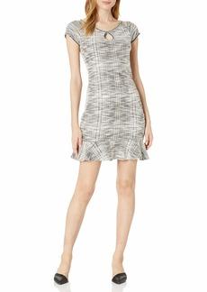 Max Studio Women's Cap Sleeve Kit Dress  L