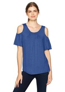 Max Studio Women's Cold Shoulder Knit Top