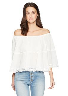 Max Studio Women's Cotton Gauze Blouse  L