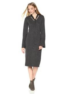 Max Studio Women's Fitted Sweater Dress  M
