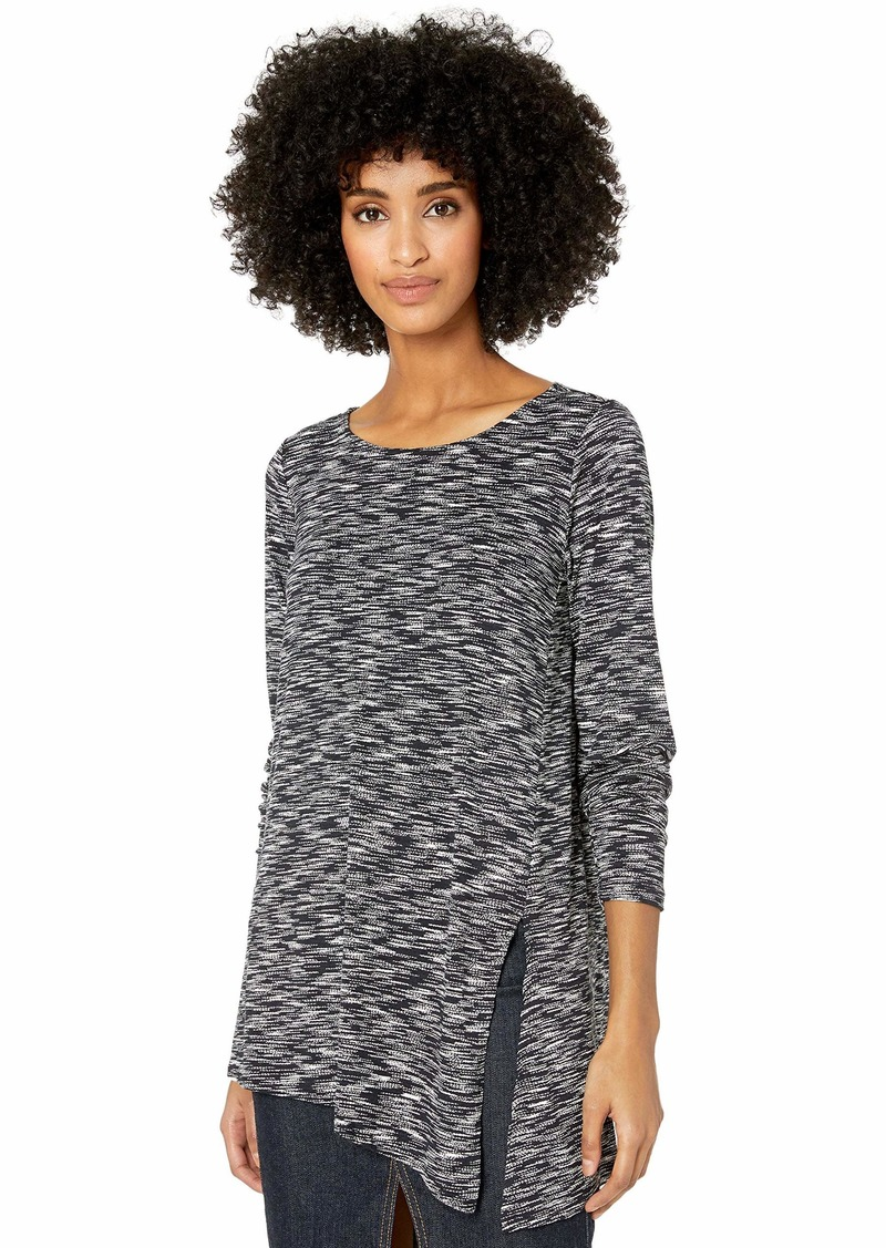 Max Studio Women's French Terry Knit top  XS