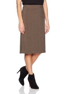 Max Studio Women's Glen Plaid Pencil Skirt