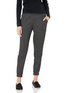 Max Studio Women's Houndstooth Double Knit Joggers  Extra Small