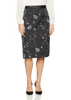 Max Studio Women's Jacquard a-Line Skirt
