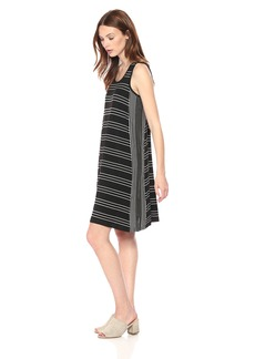 Max Studio Women's Knit Tank Trapeze Dress