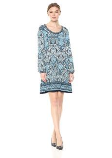 Max Studio Women's Long Full Sleeve Dress  XS