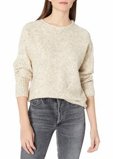 Max Studio Women's Long Sleeve Crew Neck Sweater