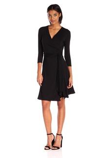 Max Studio Women's Knit Wrap Dress  L