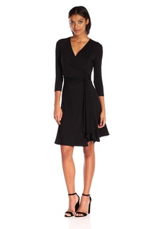 Max Studio Women's Knit Wrap Dress  XS