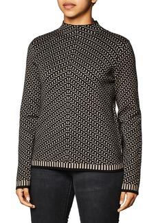 Max Studio Women's Mock Neck Sweater  Extra Large