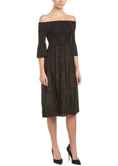 Max Studio Women's Off The Shoulder Jacquard Dress  XS