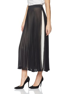 Max Studio Women's Pleated Maxi Skirt  L