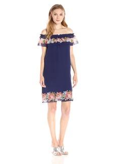 Max Studio Women's Printed GGT Dress