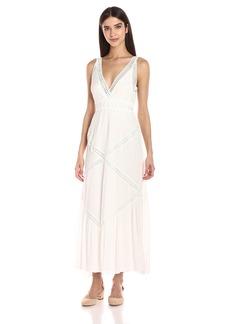Max Studio Women's Sleeveless Lace Maxi Dress
