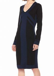 Max Studio Women's Rayon/Poly Dress  L