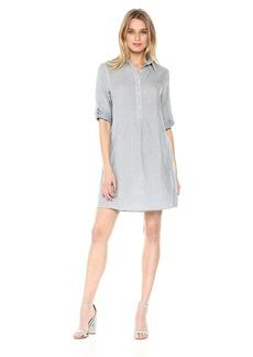 Max Studio Women's Roll Sleeve Dress  XS