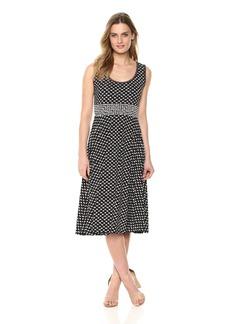 Max Studio Women's Sleeveles Midi Jersey Dress  Extra Large