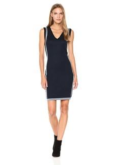 Max Studio Women's Sleeveless Body Con Sweater Dress