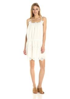 MAXSTUDIO Max Studio Women's Sleeveless High Low Tunic Dress