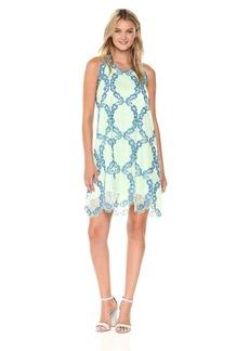 MAXSTUDIO Max Studio Women's Sleeveless Lace Dress