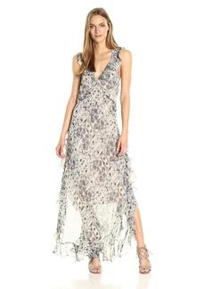 Max Studio Women's Sleeveless Printed Maxi Dress