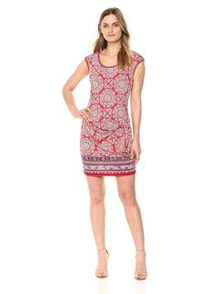 Max Studio Women's Sleeveless Wrap Waist Dress  S