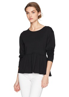 Max Studio Women's Soft French Terry Sweater  M