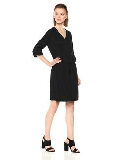 Max Studio Women's Soft Twill Dress  L