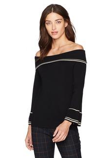 Max Studio Women's Solid Sweater  XL
