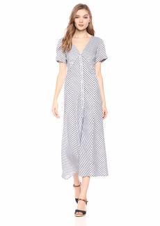 Max Studio Women's Striped Shirting Dress